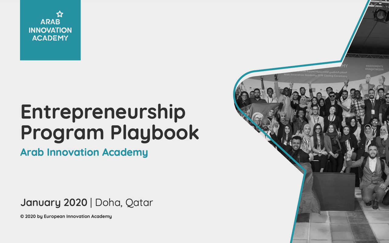 AIA Entrepreneurship Program Playbook