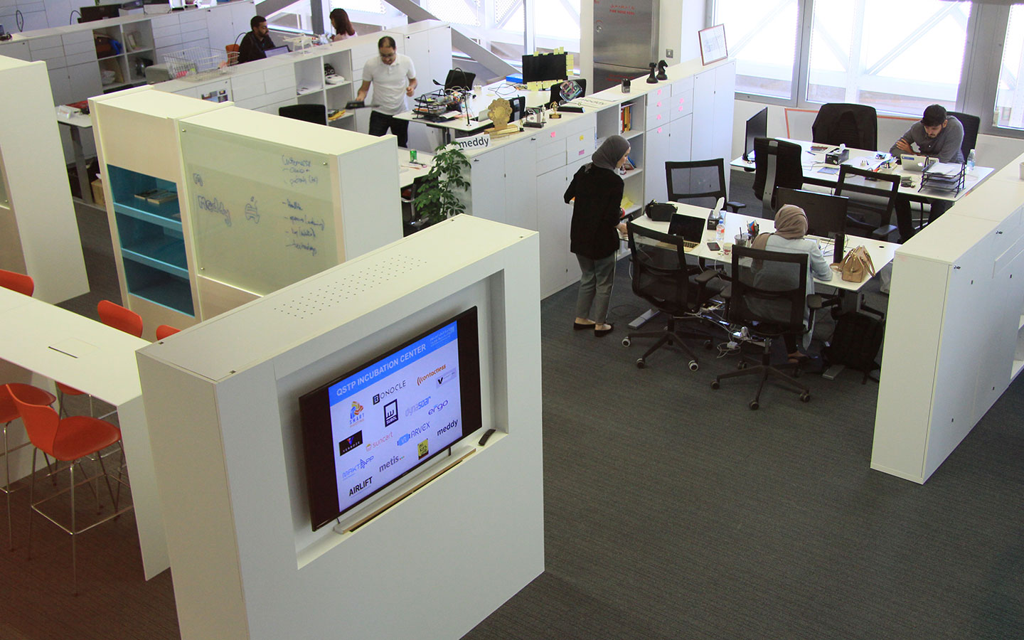 Incubation Center at QSTP